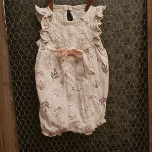 Carter's Baby Girl Romper Size 3 month